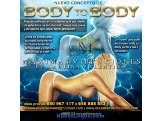 Máximas vibraciones presenta su spa erotico y masajes vips
