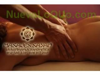 Sayan, promoción masaje tantra